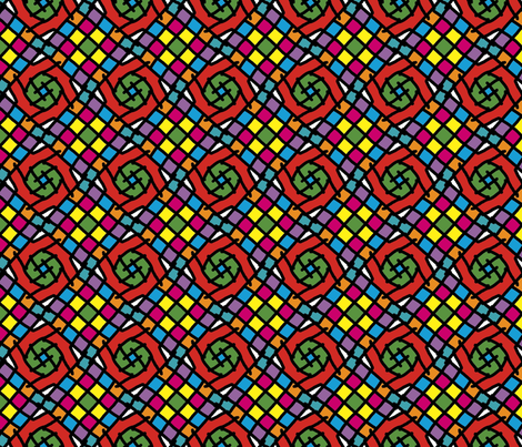 Stain Glass fabric by alicehamptondickerson on Spoonflower - custom fabric
