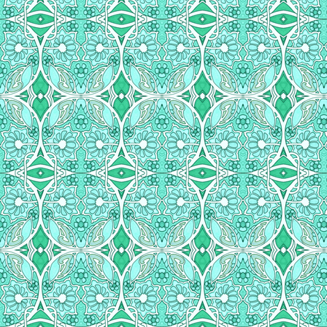 Something About Circles fabric by edsel2084 on Spoonflower - custom fabric
