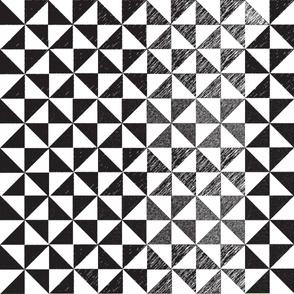 Black and White Pinwheels