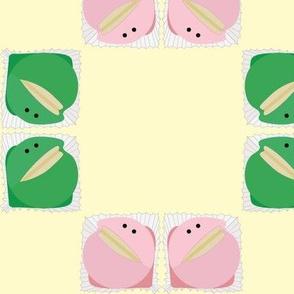 Happy frog cakes