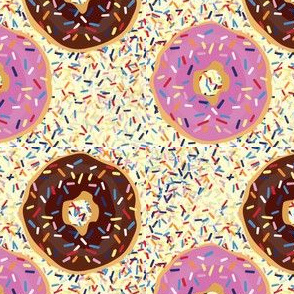 Doughnuts & sprinkles