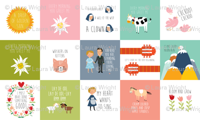 Sound of music quilt quotes