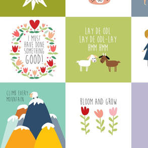 Sound of music quilt quotes