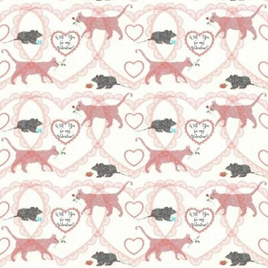 cat & mouse valentine
