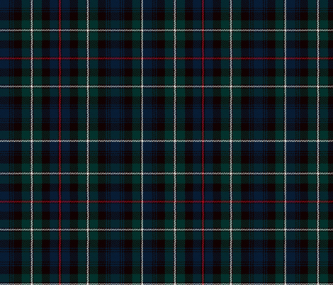 MacKenzie tartan plaid outlander fabric by laurawrightstudio on Spoonflower - custom fabric