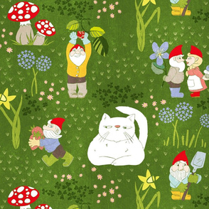 Busy Little Garden Gnomes