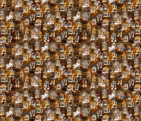 house_2 fabric by linda_bingham on Spoonflower - custom fabric