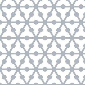 Geodesic molecular silver