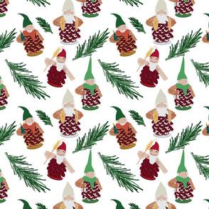 pinecone gnomes