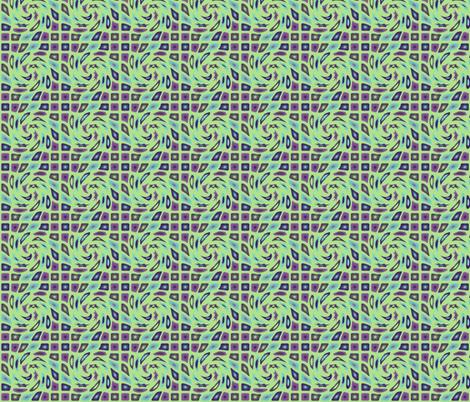 Swirly Icons  fabric by gargoylesentry on Spoonflower - custom fabric
