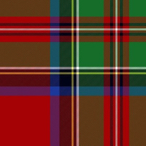 "Royal Stewart / Stuart tartan, 10"""