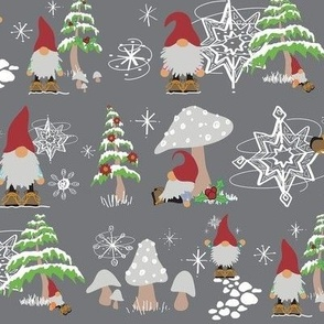 Winter Gnomes Original (Full Size)