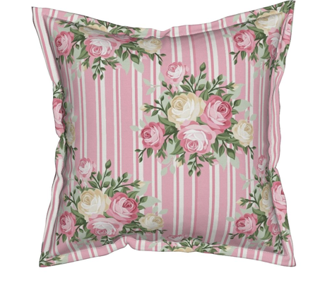 Pretty Shabby Chic Rose Pink