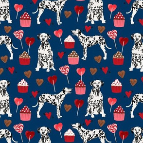 dalmatian love valentines fabric love dog dogs dalmatians fabric