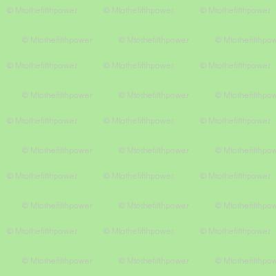 Solid Paradise Green (#b2e79f)