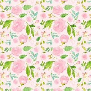 """2.6"""" Once Upon a Time Floral - Pink"""