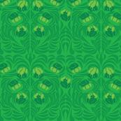 Iris Greenery Emerald