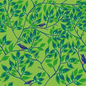 honeycreeper 11  [leaf]