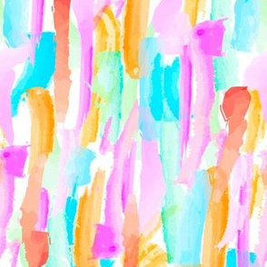 Abstract Brushstrokes 3 - Brights