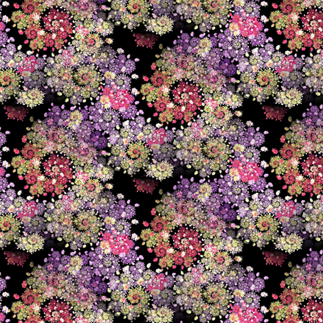 fractal potpourrie fabric by stofftoy on Spoonflower - custom fabric