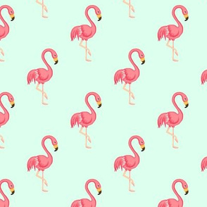 Flamingo midscale Seafoam