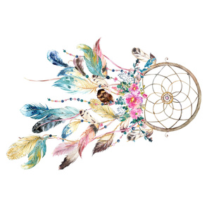 Bohemian Dreams - Dream Catcher - 90 degrees