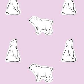 hey, bears. // pink