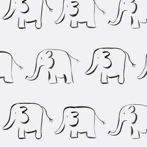 elephants // grey