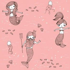 mermaids___neptune__peach