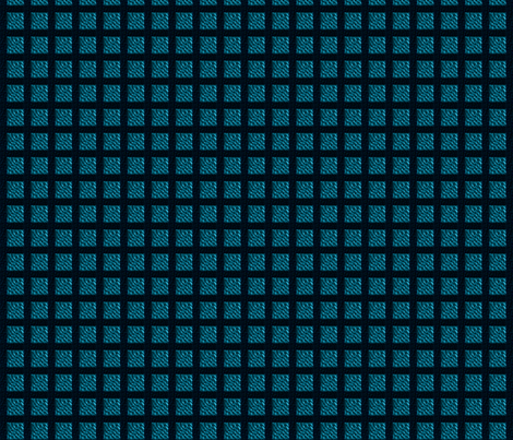 Blue Saloon Textured Square fabric by lnx on Spoonflower - custom fabric