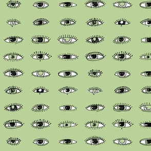 Eyes (pale green)