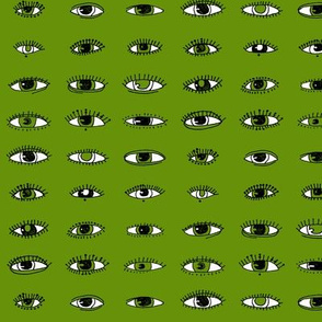 Eyes (bright green)