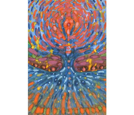 Nothing I Can Do fabric by wojtekkowalski on Spoonflower - custom fabric