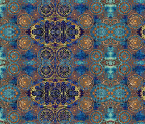The Empress fabric by floramoon on Spoonflower - custom fabric