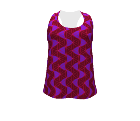Waves_Pattern_Red_ Cardinal_Amethyst
