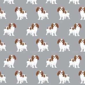 cavalier king charles spaniel fabric blenheim dog fabric spaniel fabric