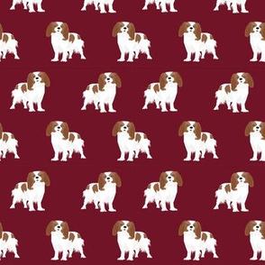 cavalier king charles spaniel fabric blenheim dog fabric spaniel fabric