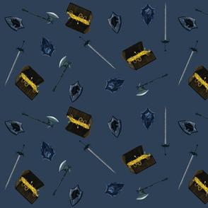 Weapon Toss - Steel