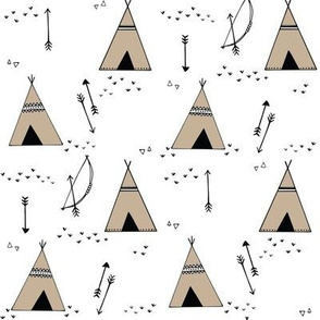 teepees__bows___arrows__stone_teepees
