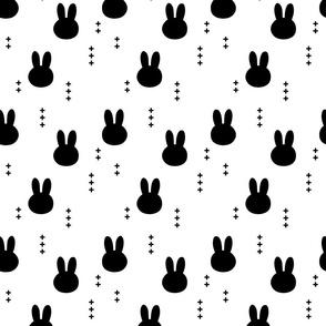 bunnies || b&w