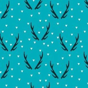 antlers // turquoise baby nursery antler fabric baby antlers andrea lauren