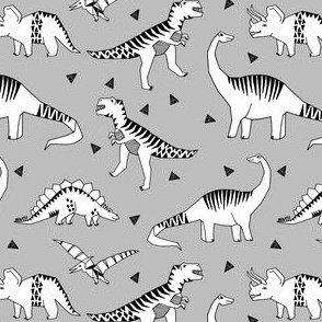 dinosaur // dinos fabric grey dinosaurs fabric andrea lauren fabric nursery baby design