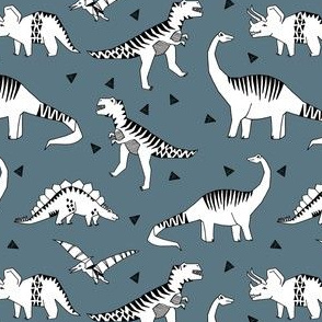 dinosaur // blue grey dinosaur fabric baby nursery baby boy design andrea lauren fabric