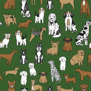 dogs // dog fabric pet dog design pets fabric dogs fabric
