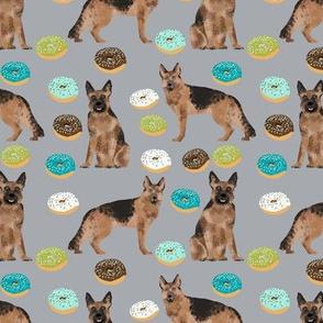 donuts german shepherd fabric pastel german shepherd design food fabric