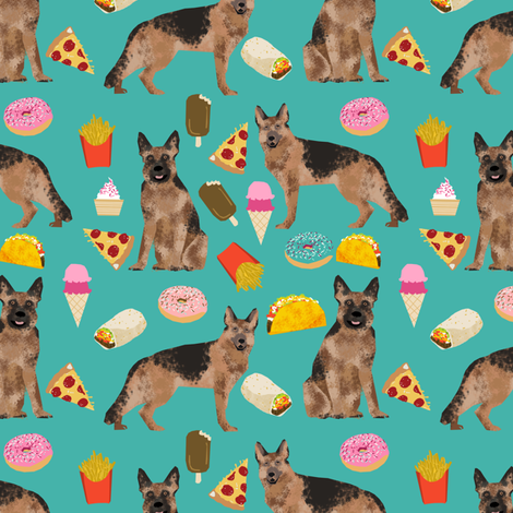german shepherd junk food fabric bright fries food pizza tacos ... on food wallpaper, food book display, food sewing projects, food fashion, food gift wrap, food puzzle pieces, food sensations, food made of, food classes, food ribbons, food wood sticks, food made from felt, food word book, food illustration board, food loom, food shoppping, food project ideas, food toys, food label system, food props,