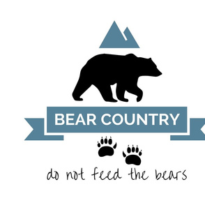 Bear Country Pillow FQs