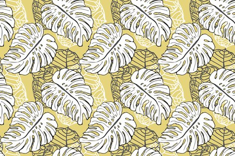 Rmonstera_seagrape_pattern__khaki_dcc557_shop_preview