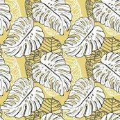Rmonstera_seagrape_pattern__khaki_dcc557_shop_thumb