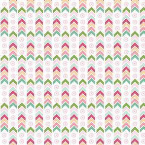 Aztec Totem - pink